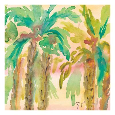 Sunset Palms 1-Beverly Dyer-Art Print