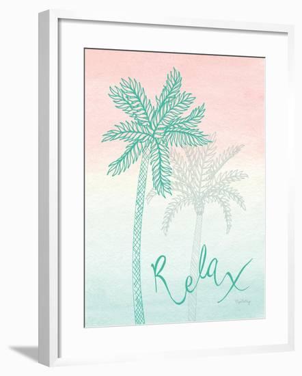 Sunset Palms I-Elyse DeNeige-Framed Art Print