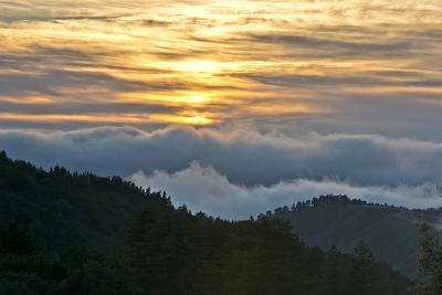 Sunset, Palo Coronado Canyon, California, USA-Michel Hersen-Photographic Print