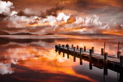 Sunset Pier-Marco Carmassi-Photographic Print