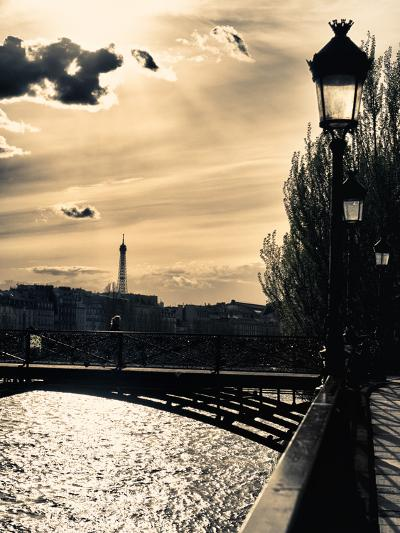 Sunset - Pont des Arts - Paris - France-Philippe Hugonnard-Photographic Print