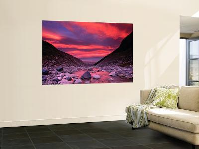 Sunset Reflected in the Waters of the Rio Blanco-Gareth McCormack-Giant Art Print