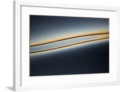 Sunset Reflecting on the Calm Waters-Michael Melford-Framed Photographic Print