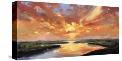 Sunset Reflection-Robert Seguin-Stretched Canvas Print