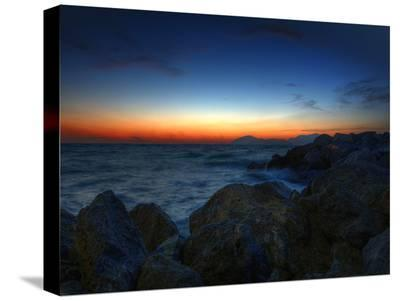 Sunset Rock-Dale MacMillan-Stretched Canvas Print