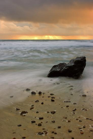 Sunset Rocks-Vincent James-Photographic Print