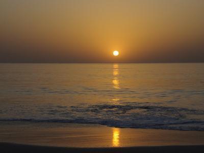 Sunset, Sine Saloum Delta, Senegal, West Africa, Africa-Robert Harding-Photographic Print