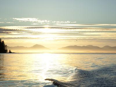 Sunset, Southeast Near Ketchikan, Alaska, Usa-Savanah Stewart-Photographic Print