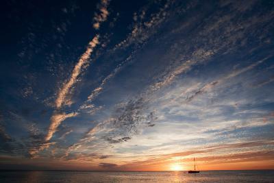 Sunset, St. Lucia, West Indies-Susan Degginger-Photographic Print