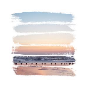 Sunset Stripes I