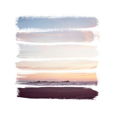 Sunset Stripes III--Art Print