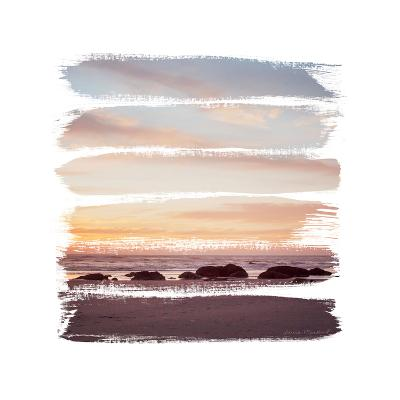 Sunset Stripes IV--Art Print