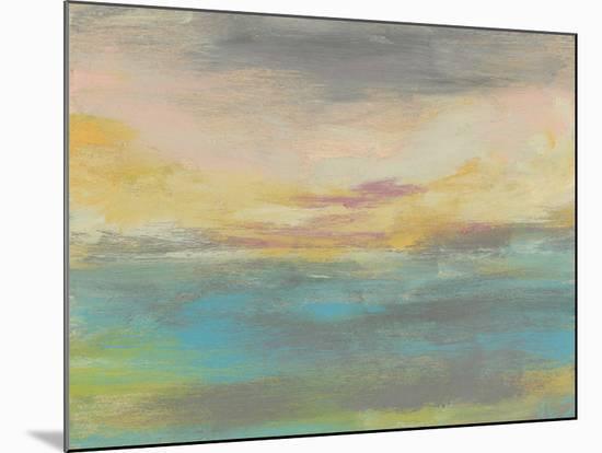 Sunset Study IV-Jennifer Goldberger-Mounted Art Print