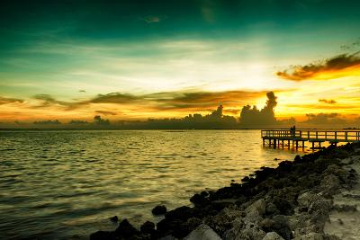 Sunset Sun Dream-Philippe Hugonnard-Photographic Print