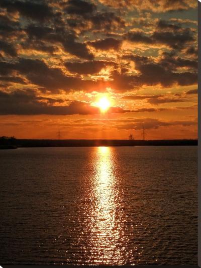 Sunset Sunrise Holiday-Wonderful Dream-Stretched Canvas Print