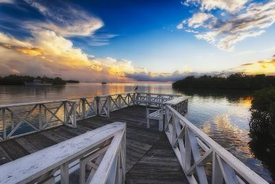 Sunset to Relax, La Parguera, Puerto Rico-George Oze-Photographic Print
