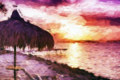Sunset Trip II - In the Style of Oil Painting-Philippe Hugonnard-Giclee Print