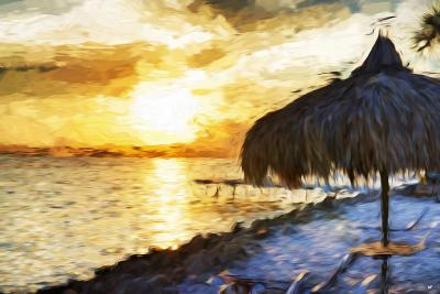 Sunset Trip - In the Style of Oil Painting-Philippe Hugonnard-Giclee Print