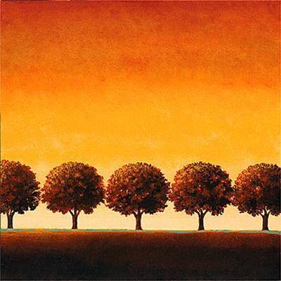 Sunset Valley I-Sophia Sanchez-Art Print