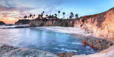 Sunset View of Treasure Island Beach at the Montage in Laguna Beach, California, United States-Stephanie Starr-Photographic Print