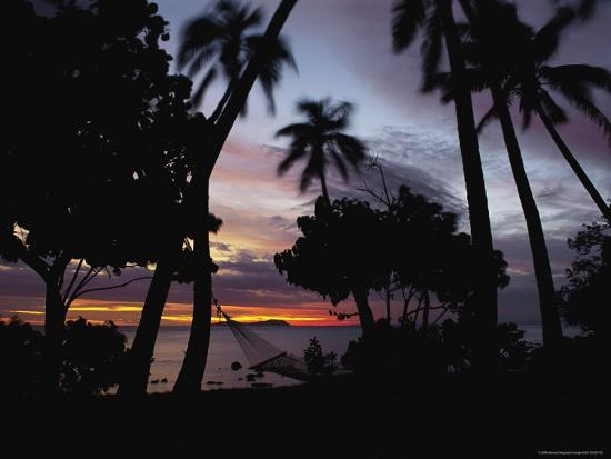Sunset View over Marlin Bay-James L^ Stanfield-Photographic Print