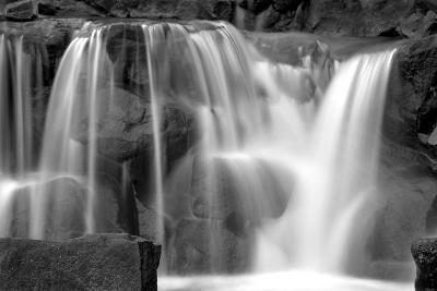 Sunset Waterfall II BW-Douglas Taylor-Photo