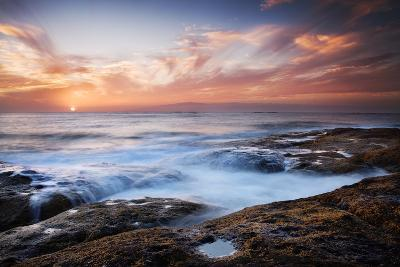 Sunset, Western Shore of Tenerife in the Canary Islands, Spain, Atlantic, Europe-Garry Ridsdale-Photographic Print