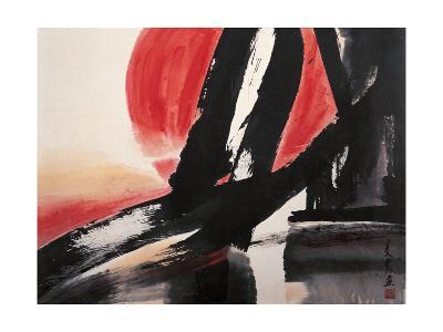 Sunset-Chi Wen-Giclee Print