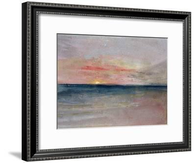 Sunset-J^ M^ W^ Turner-Framed Premium Giclee Print