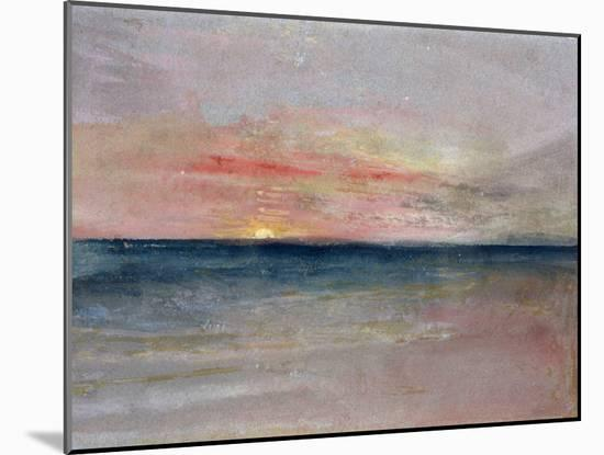 Sunset-J^ M^ W^ Turner-Mounted Giclee Print