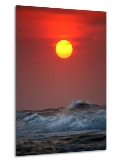 Sunset-Ruud Peters-Metal Print