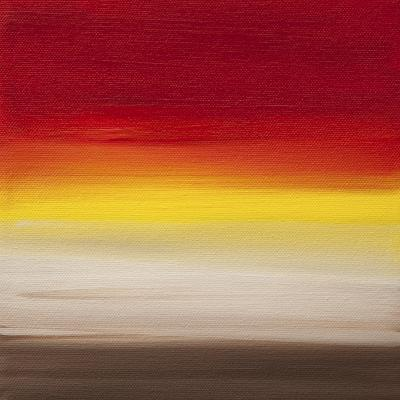 Sunsets - Canvas 1-Hilary Winfield-Giclee Print