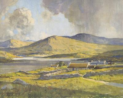 Sunshine and Shadow, Anure, County Donegal-Maurice Wilks-Giclee Print