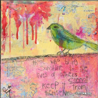 Sunshine Bird-Jennifer McCully-Giclee Print