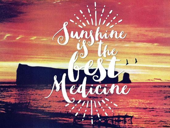 Sunshine Is The Best Medicine-The Saturday Evening Post-Giclee Print