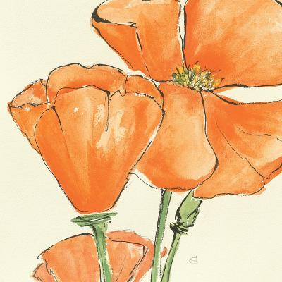 Sunshine Poppy III-Chris Paschke-Art Print