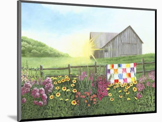 Sunshine Quilt-Julie Peterson-Mounted Art Print
