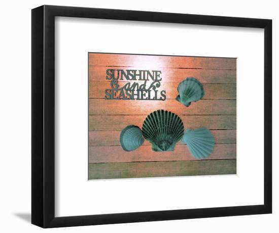Sunshine Shells-Tom Kelly-Framed Giclee Print
