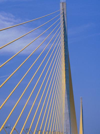 Sunshine Skyway Bridge, FL-Rick Poley-Photographic Print