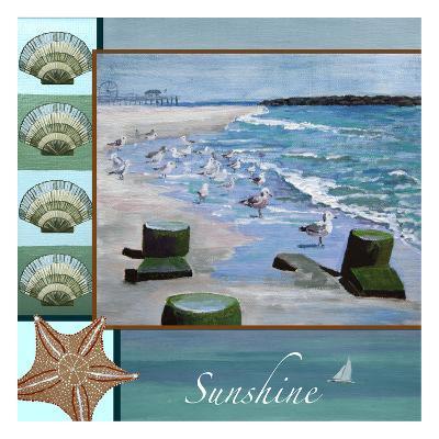 Sunshine Star Fish-Donna Sinisgalli-Art Print