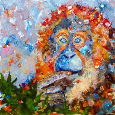 Orangutan by Sunshine Taylor