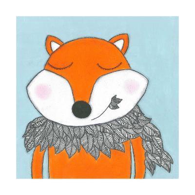 Super Animal - Fox-Tatijana Lawrence-Art Print