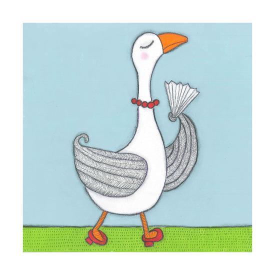 Super Animal - Goose-Tatijana Lawrence-Art Print