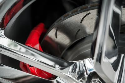 Super Car Brakes-duallogic-Photographic Print