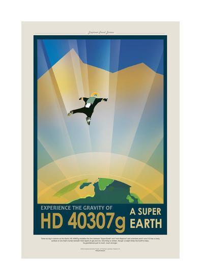 Super Earth--Giclee Print