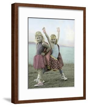 Super Heros-Gail Goodwin-Framed Giclee Print