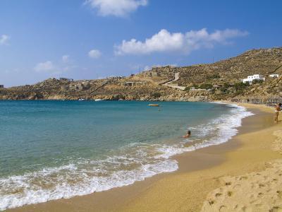 Super Paradise Beach, Mykonos, Greece-Bill Bachmann-Photographic Print