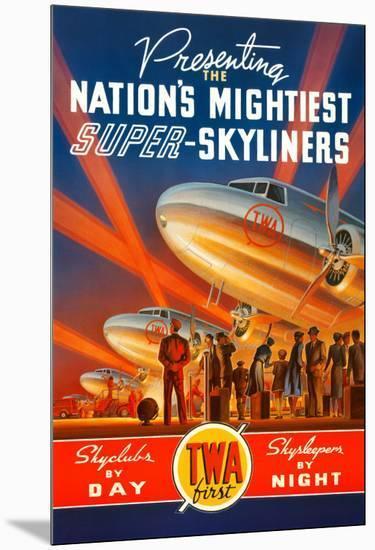 Super Skyliners-Kerne Erickson-Mounted Art Print