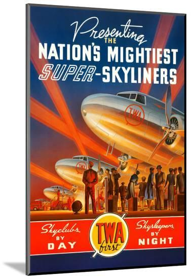 Super Skyliners-Kerne Erickson-Mounted Print