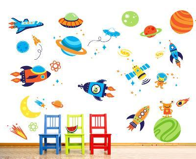 Super Space Explorer--Wall Decal